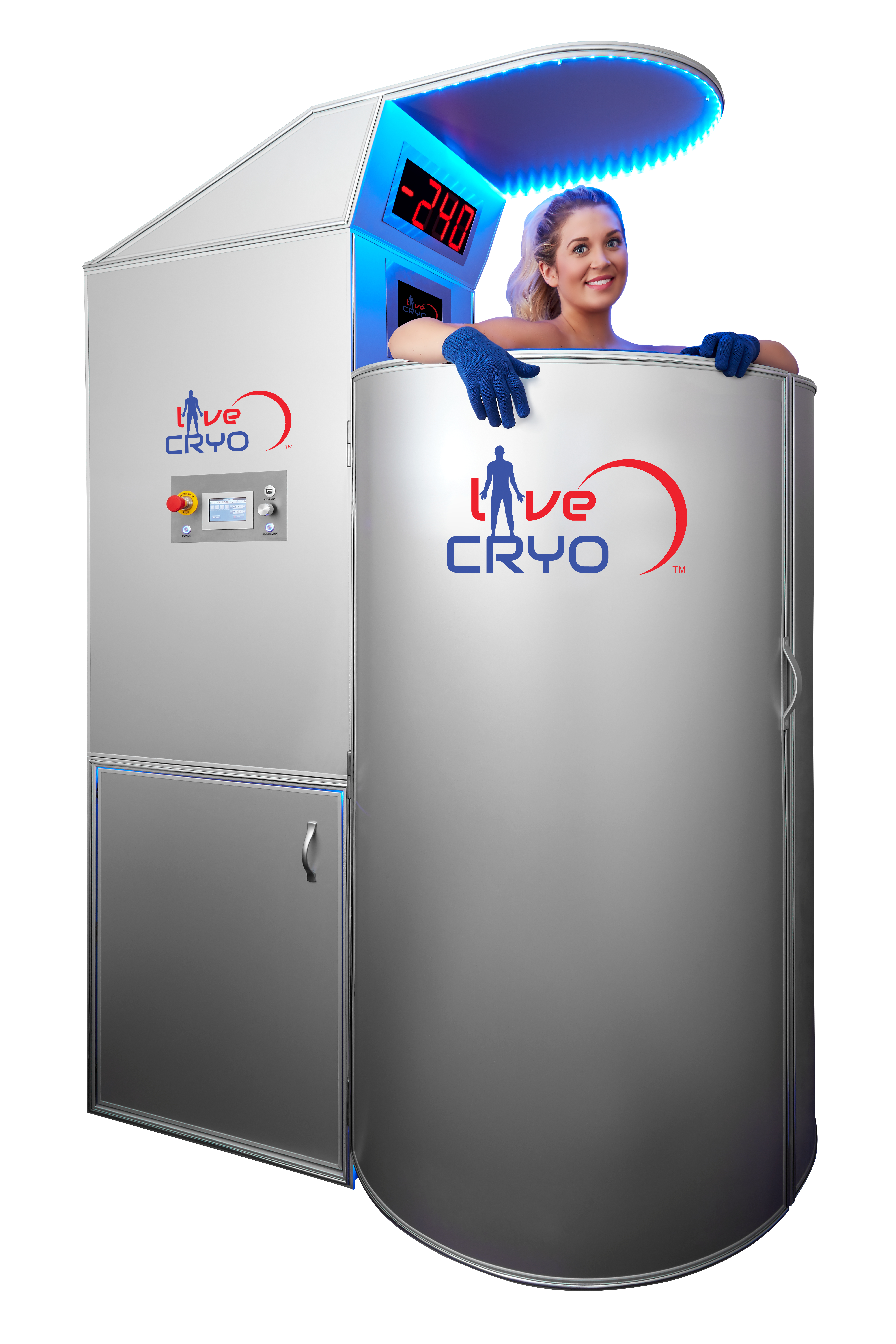 Cryo Chamber with model 3